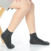 《【KEROPPA】》可諾帕7~12歲學童專用毛巾底氣墊短襪(4雙C93003深灰)