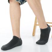 《【KEROPPA】》可諾帕細針毛巾底氣墊加大船襪(4雙(男女適用)C91001-深灰)