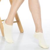 《【KEROPPA】》可諾帕細針毛巾底氣墊船型襪(4雙(男女適用)C91001-淺黃)