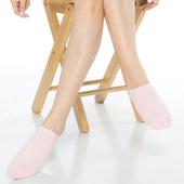 《【KEROPPA】》可諾帕細針毛巾底氣墊船型襪(4雙(男女適用)C91001-淺粉)
