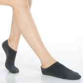 《【KEROPPA】》可諾帕細針毛巾底氣墊船型襪(4雙(男女適用)C91001-深灰)