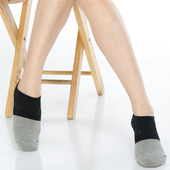 《【KEROPPA】》可諾帕竹碳氣墊船襪(3雙(男女適用)C90015-黑)