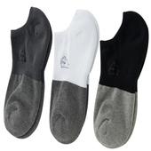 《【KEROPPA】》可諾帕竹碳氣墊船襪(綜合3雙(男女適用)C90015-A)