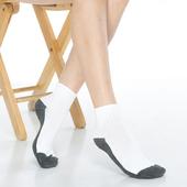 《【KEROPPA】》可諾帕1/2運動短襪(6雙(男女適用)C962-白灰色)
