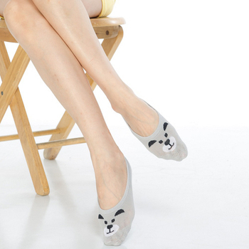 《【KEROPPA】》吸濕/止滑/減壓竹炭隱形襪(6雙(男女適用)C503-1-灰色)