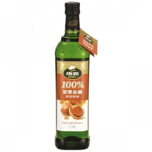 維義 100%堅果金鑽(750ml/瓶)