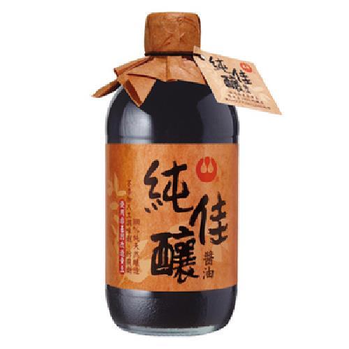 萬家香 純佳釀醬油(450ml/瓶)