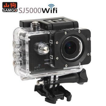 山狗 SAMGO SJ5000W 運動防水wifi版攝影機-加贈電池+座充(黑)