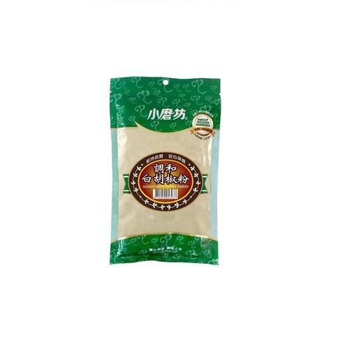 小磨坊 調和白胡椒粉(純素)(200g/包)