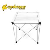 《CHANODUG》豪華鋁合金便攜式正方形折疊桌