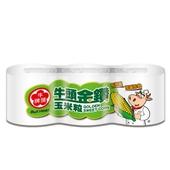 《牛頭牌》金鑽玉米粒340g*3罐/組 $72