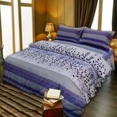 《柔之鄉》葉語 雙人床罩組(5x6.2尺)