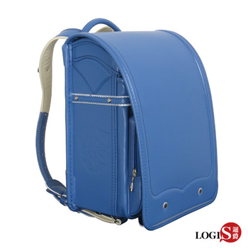 LOGIS 守習之翼 小學生書包/日式書包/護脊書包/背包(藍)
