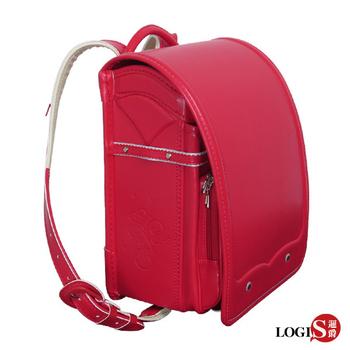 LOGIS 守習之翼 小學生書包/日式書包/護脊書包/背包(紅)