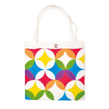 德國Hape愛傑卡 木製工藝系列提袋彩繪