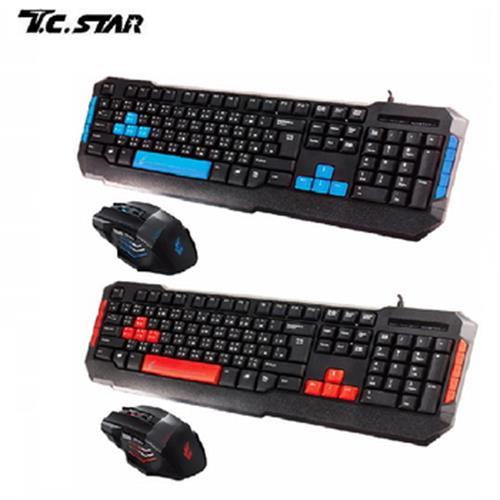 T.C.STAR 電競鍵盤+滑鼠組(KIT9904)
