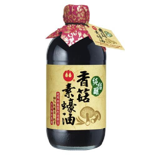 《萬家香》純佳釀香菇素蠔油(510g/瓶)