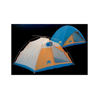RHINO 犀牛 A110 防水帳蓬A系列 - 二人帳篷.掛鉤高防水雪地帳(藍/黃)
