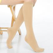 《【KEROPPA】》可諾帕流行細針超彈性厚底中統襪(2雙C92001-A膚色)