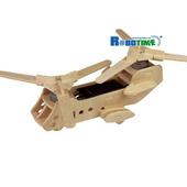 《Robotime機械系列》綠能航空系列--雙螺旋運輸機-太陽能驅動功能(個)