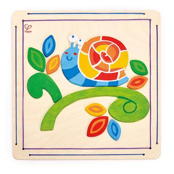 德國Hape愛傑卡 木製工藝系列蝸牛彩繪
