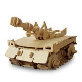 《Robotime機械系列》遙控功能-聲控雷霆坦克-3D 木片拼圖(個)