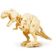 《Robotime機械恐龍系列》侏羅紀世界之王- 機械暴龍3D 木片拼圖(個)
