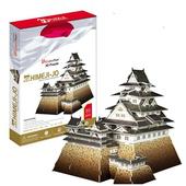 《3D建築拼圖》精裝達人版 - 日本姬路城(個)
