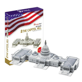 《3D建築拼圖》精裝達人版 - 美國國會大厦(個)