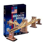 《3D建築拼圖》中階暢銷版 - 美國布魯克倫大橋(個)
