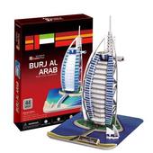《3D建築拼圖》中階暢銷版 - 杜拜帆船飯店(個)