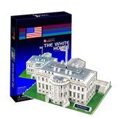 《3D建築拼圖》中階暢銷版 - 美國白宮(個)