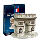 《3D建築拼圖》中階暢銷版 - 法蘭西凱旋門(個)