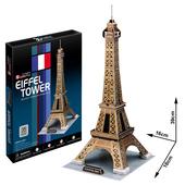 《3D建築拼圖》中階暢銷版 - 巴黎艾菲爾鐵塔(個)