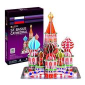 《3D建築拼圖》初階入門版 - 俄羅斯瓦西裡大教堂(個)
