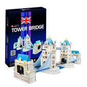 《3D建築拼圖》初階入門版 - 倫敦雙子橋(個)