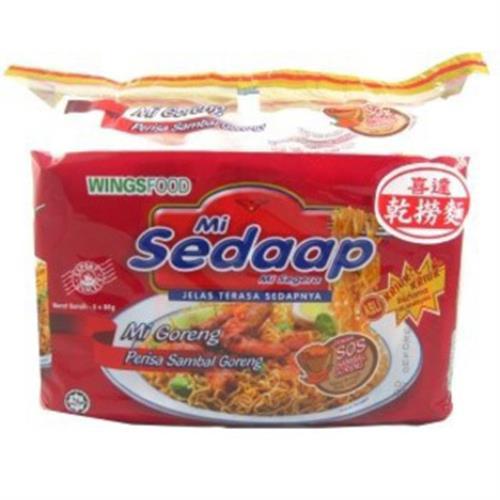 印尼喜達 香辣乾撈麵(88公克*5包/組)