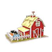 《4D手作紙雕》美國 - 清境農場(個)