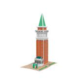 《4D手作紙雕》意大利 - 聖馬可鐘樓(個)