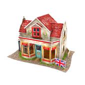 《4D手作紙雕》英國 - 五金商店(個)