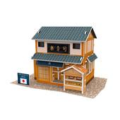 《4D手作紙雕》日本 - 壽司店(個)