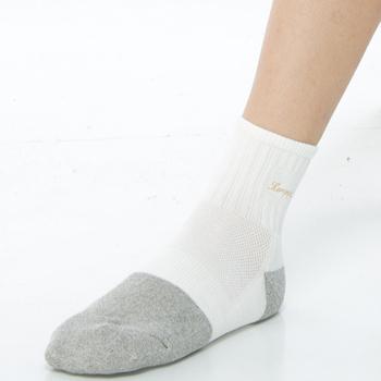 ★結帳現折★【KEROPPA】 可諾帕健康銀纖維運動男短襪(1雙C98003G灰白)