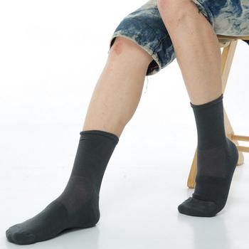 ★結帳現折★【KEROPPA】 可諾帕寬口萊卡運動襪(3雙C98002深灰)