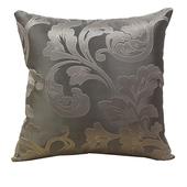 《巴芙洛》菲羽高密度織法緹花布抱枕米金色(45×45cm)