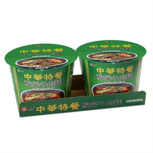維力 中華特餐桶-酸菜牛肉麵(140g*2入/組)