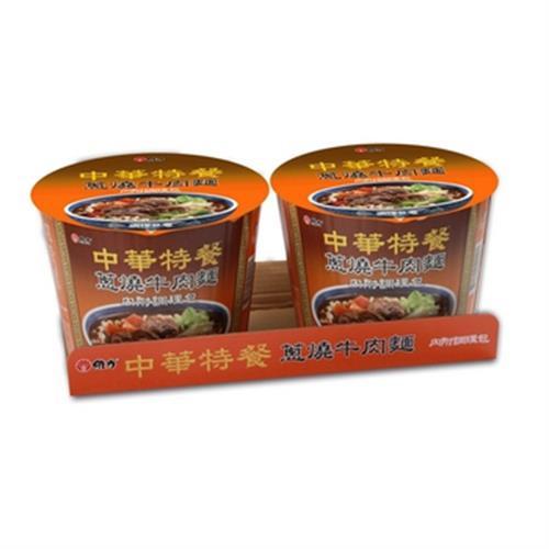維力 中華特餐桶-蔥燒牛肉麵(145g*2入/組)