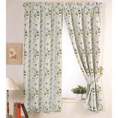 《巴芙洛》西雅圖籃色半腰遮光窗簾(200×165cm)