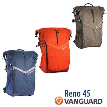 VANGUARD 精嘉 Reno 新銳者 45 攝影雙肩包(公司貨)(橘)