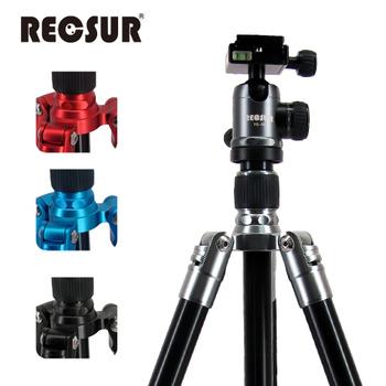 《RECSUR 銳攝》RS-3224A+VQ-20 四節反折式鋁合金腳架-台腳2號(酷炫黑)