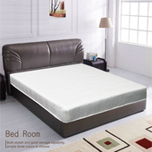 《AGNES 艾格妮絲》高碳鋼一夜好眠彈簧床墊-雙人(5尺)